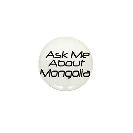 Ask Mongolia Mini Button