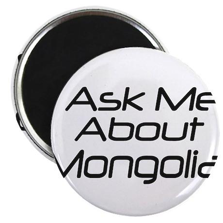 Ask Mongolia Magnet