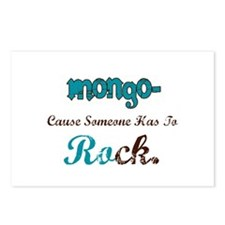 Mongo Rocks Postcards (Package of 8)