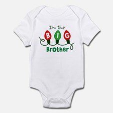 Big Brother Christmas lights Infant Bodysuit