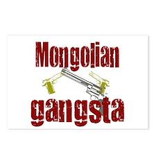 Mongolia gangsta Postcards (Package of 8)