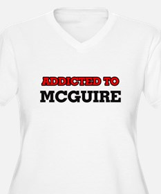 Addicted to Mcguire Plus Size T-Shirt