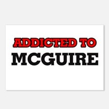 Addicted to Mcguire Postcards (Package of 8)