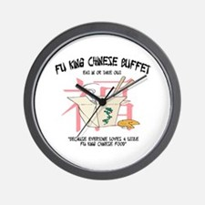 Fu King Chinese Buffet Wall Clock