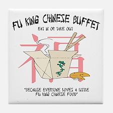 Fu King Chinese Buffet Tile Coaster