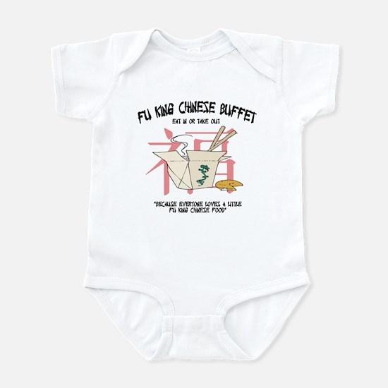 Fu King Chinese Buffet Infant Bodysuit