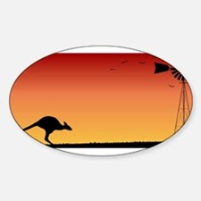 Australian Sunset Decal