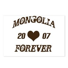 Mongolia forever Postcards (Package of 8)