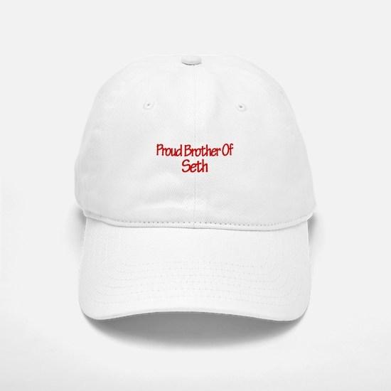 Proud Brother of Seth Baseball Baseball Cap
