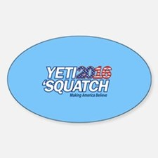 Yeti + Squatch 2016 - Making America Belie Decal