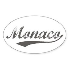Monaco Flanger Oval Decal