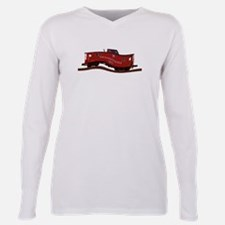 Cute Pennsylvania railroad Plus Size Long Sleeve Tee