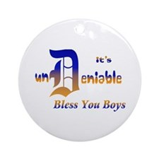 Bless You Boys Ornament (Round)