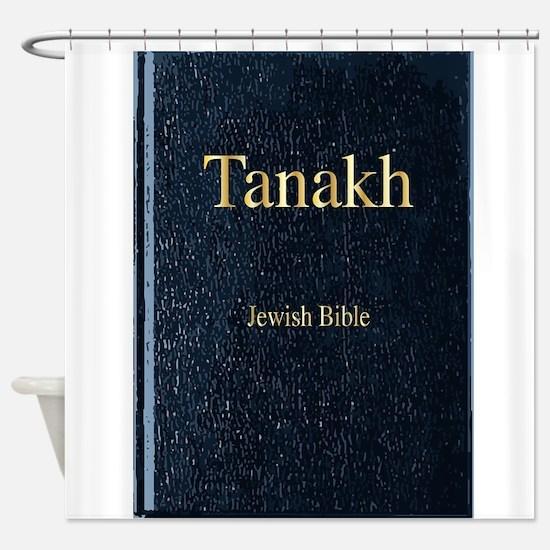 The Tanakh Shower Curtain