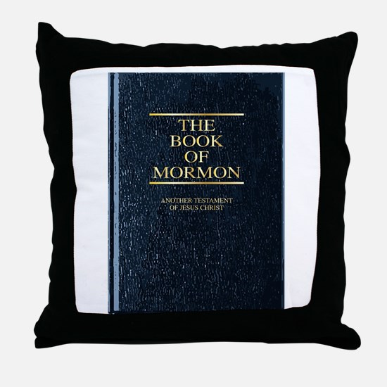 The Book of Mormon Throw Pillow