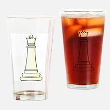 White Queen Drinking Glass