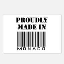 Proudly made in Monaco Postcards (Package of 8)