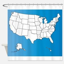 United States of America Shower Curtain