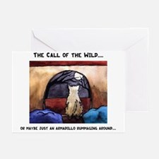 Cairn Terriers Armadillo Patrol Greeting Cards (Pa