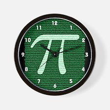 Pi Design 2 Wall Clock