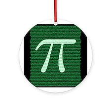 Pi Design 2 Ornament (Round)