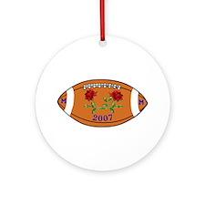 2007 Rose Bowl Ornament (Round)