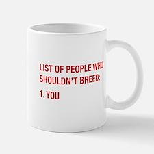 List Of People Mug