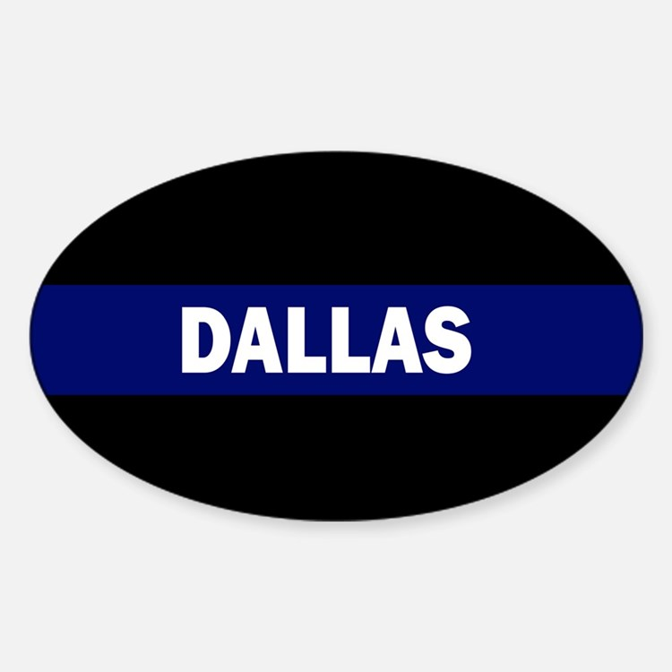 DALLAS POLICE LIVES MATTER Decal
