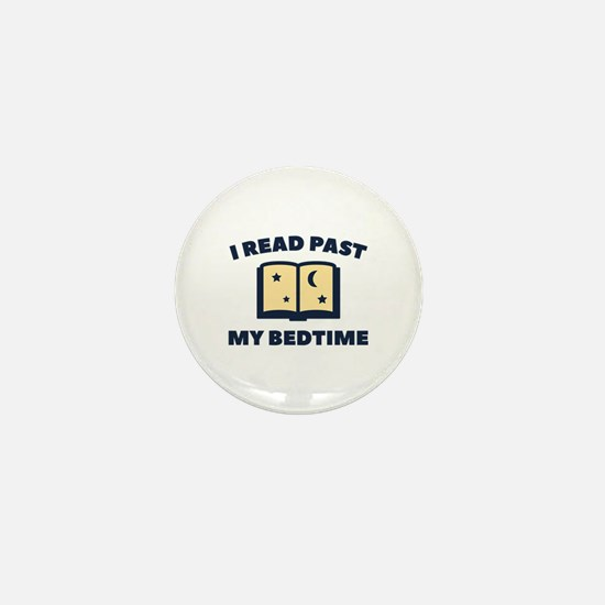 I Read Past My Bedtime Mini Button