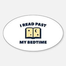 I Read Past My Bedtime Decal