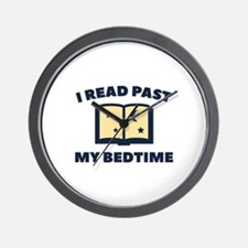I Read Past My Bedtime Wall Clock