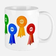 Political Rosettes Mugs
