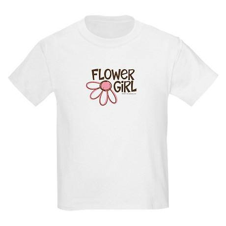 Flower Girl Kids Light T-Shirt