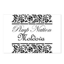 Pimp nation Moldova Postcards (Package of 8)