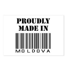 proud Moldova Postcards (Package of 8)