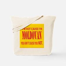 hot Moldova Tote Bag