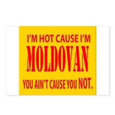 hot Moldova Postcards (Package of 8)