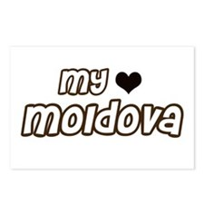 my heart Moldova Postcards (Package of 8)