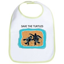 Baby Turtles for you Baby's Bib