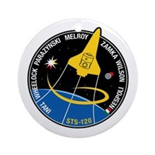 STS 120 Ornament (Round)