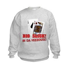 Big Slick (Hizzouse) Kids Sweatshirt