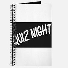 Quiz Night Blackboard Journal