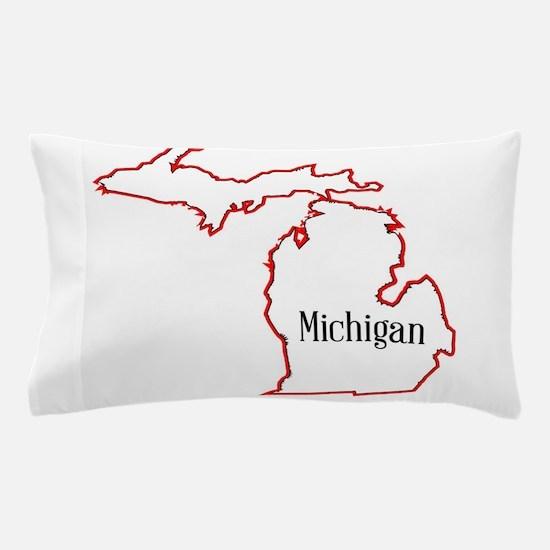 Michigan Pillow Case