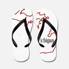 Michigan Flip Flops