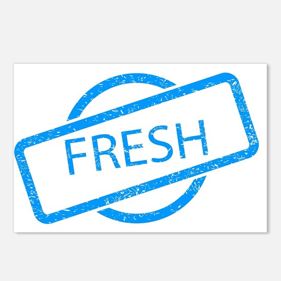 Fresh Stamp Postcards (Package of 8)