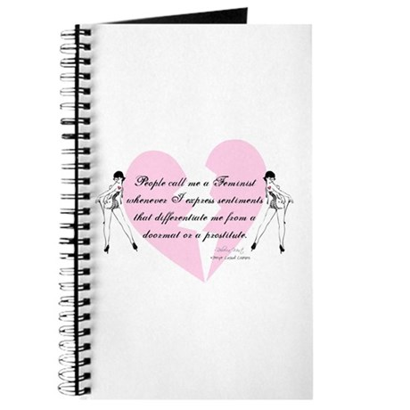 Feminist Quote T-shirts and g Journal