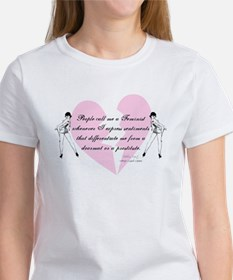 Feminist Quote T-shirts and g Women's T-Shirt