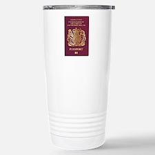 British Passport Travel Mug