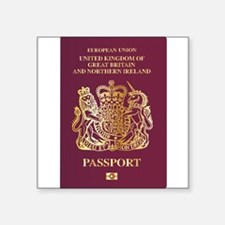 British Passport Sticker