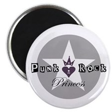 Punk Rock Princess Magnet